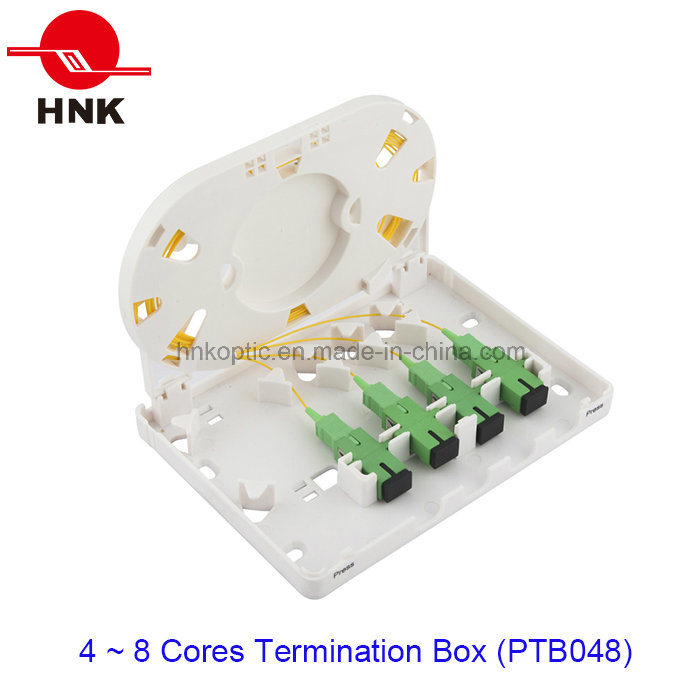 4 Ports Fiber Optic Cable Termination Box