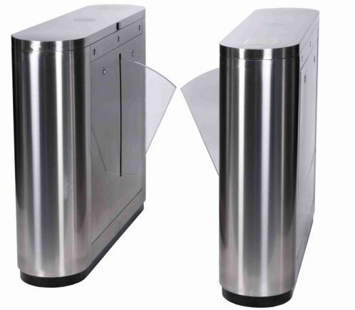 Automatic Flap Barrier Turnstile for Access Control Security Gate