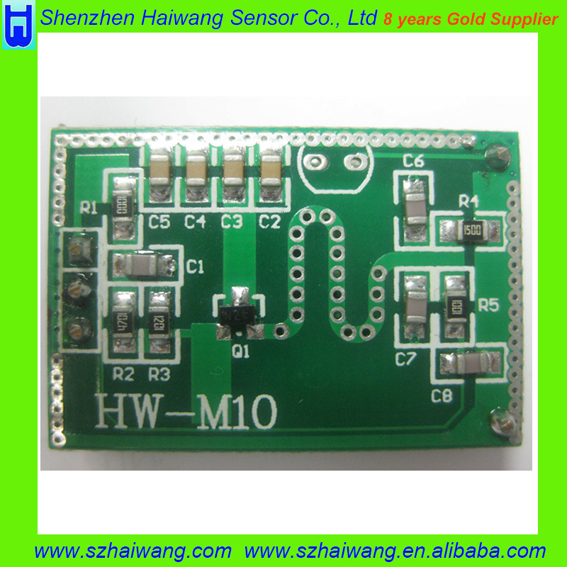 Microwave Doppler Radar Detector Sensor Module for 10.525GHz (HW-M10)