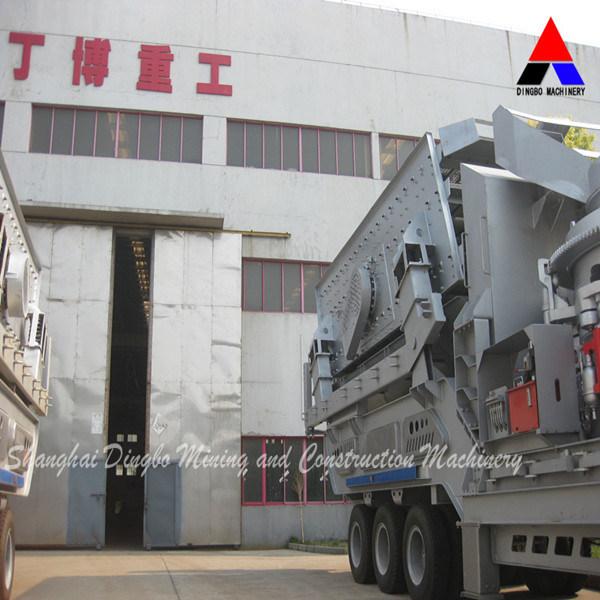 Granite Portable Crushing Plant, Mobile Crusher