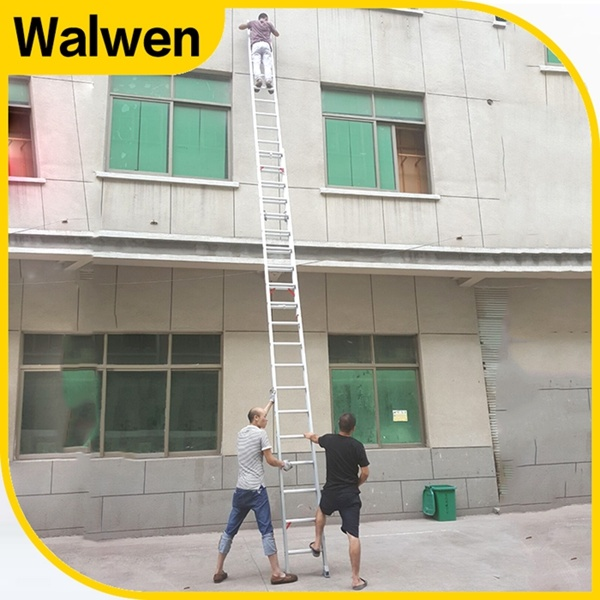 Multi-Purpose Aluminum Telescopic Combination Step Ladder