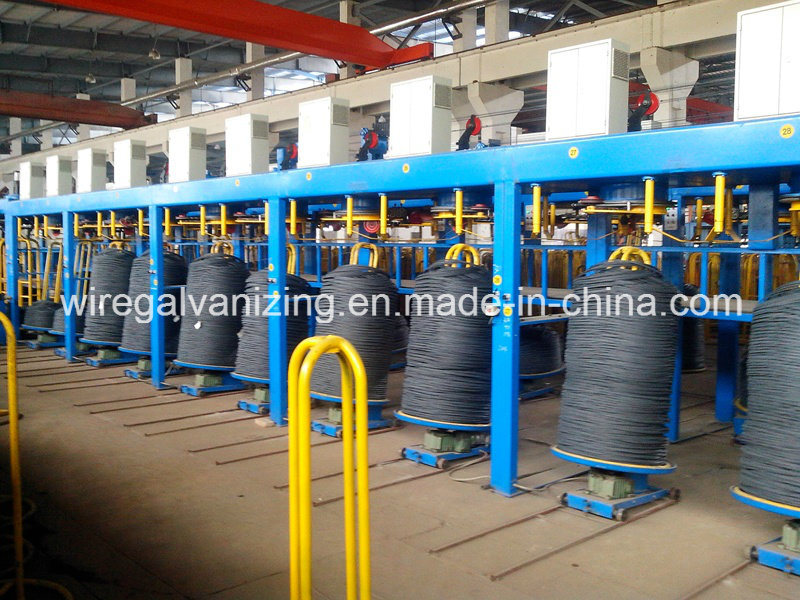 High DV Steel Wire Electro Galvanizing Machine with Ce Certified