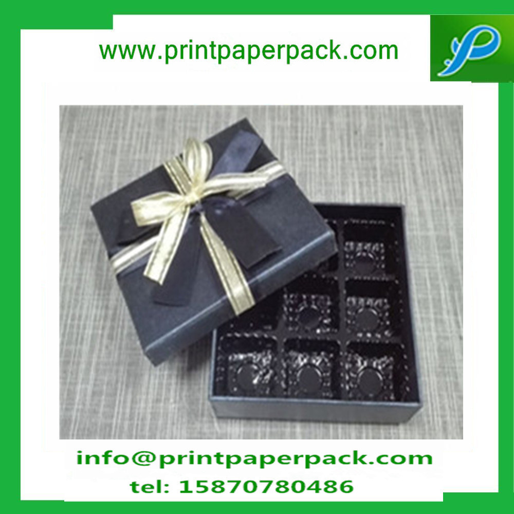 Wedding Favor Gift Candy Biscuit Box Chocolate Box with Ribbon Bowknot