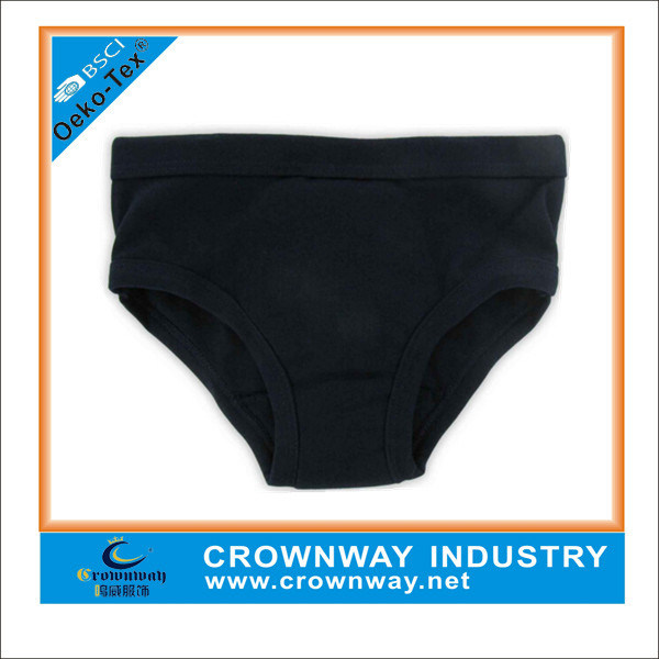 Wholesale High Quality Organic Cotton Blank Underwear for Kids