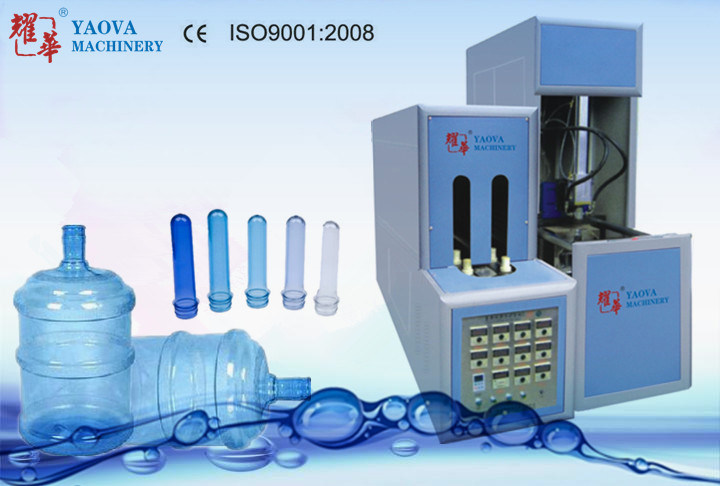 Semi-Automatic 5 Gallon Pet Water Bottle Blow Molding Machine