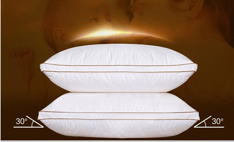 New Fashion Design White Goose Down Pillow