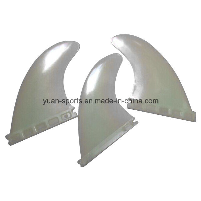 8′ Plastic Center Surf Fin with Us Fin Box