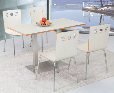 Hot Sale Restaurant Table and Chair Canteen Table and Chair