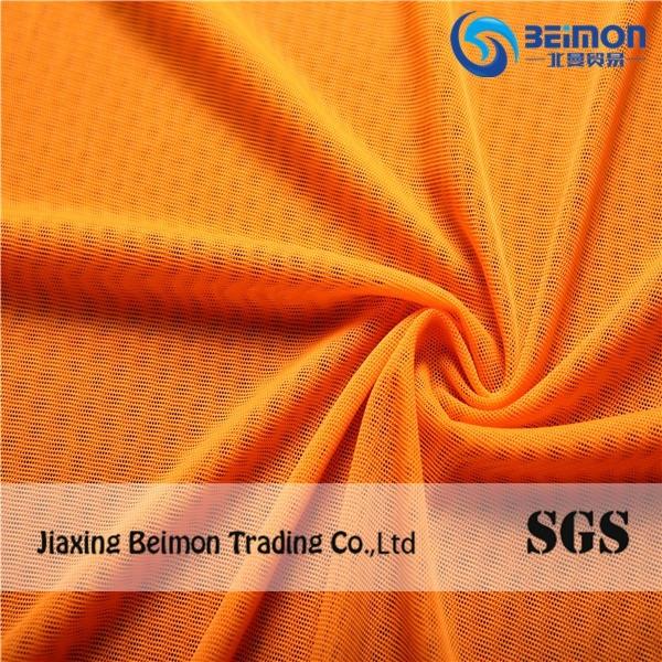 Micro Mesh Nylon Fabric 82% Nylon and 18% Spandex Mesh Fabric for Lining Clothes