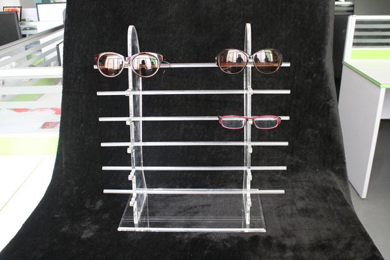 Custom Clear Acrylic Eyewear Display Stand. Sunglasses Display, Eyeglass Display