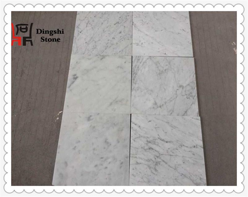 Italy White Marble Bianco Carrara Marble Tile