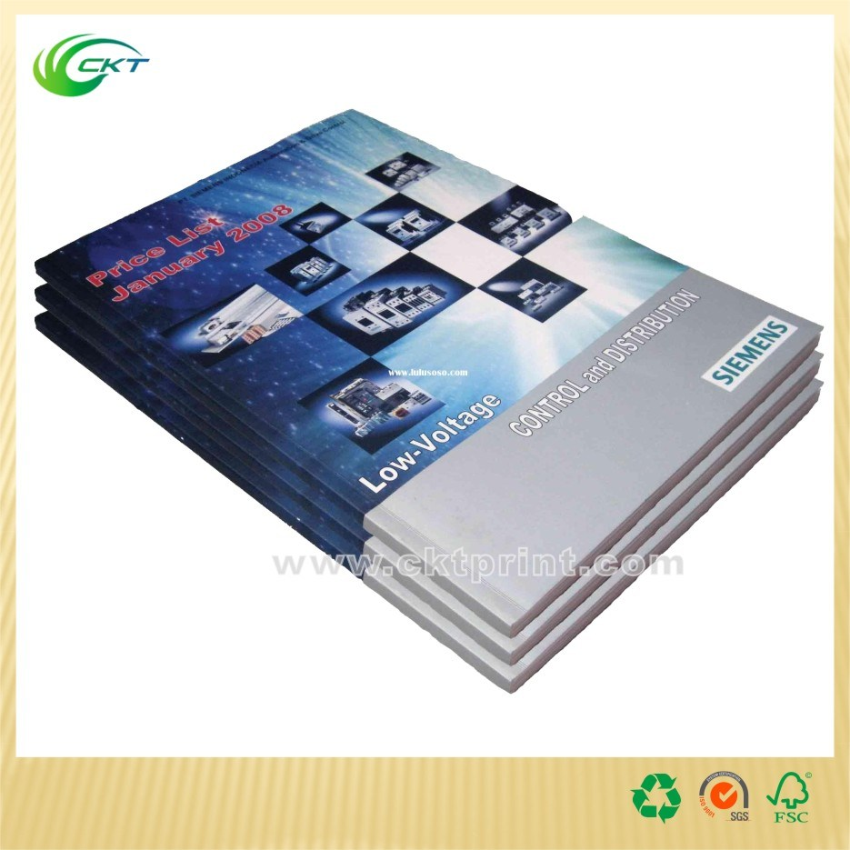 Short Run Book/Magazine Printing with Perfect Binding (CKT-BK-291)