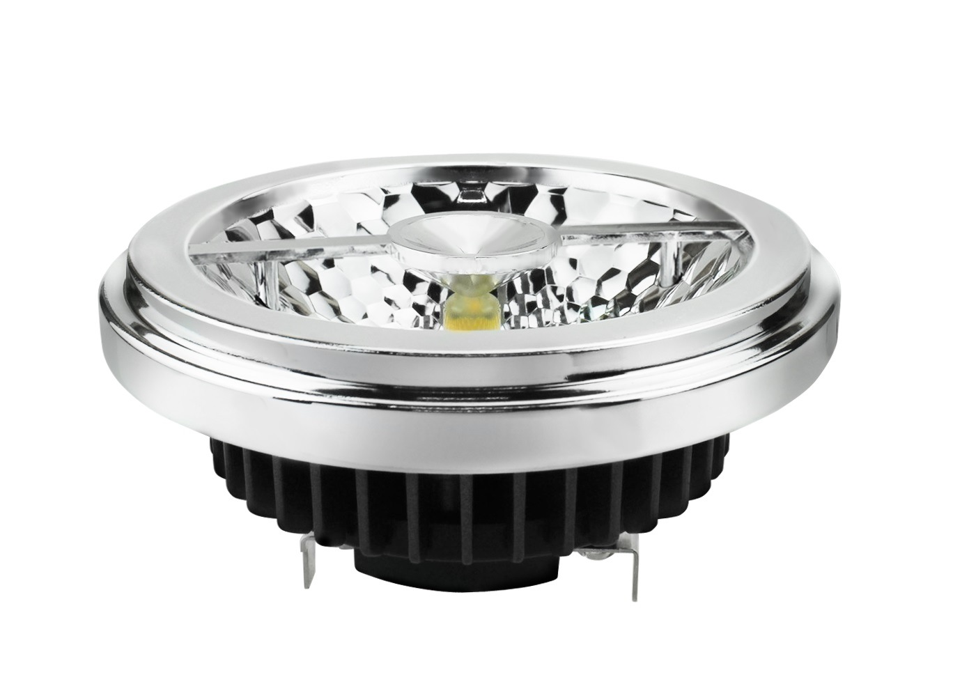 Glare-Free 15W 95ra 860lm Retrofit LED AR111 Light Bulb (LeisoA)