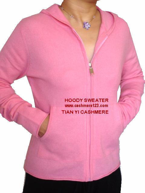 Cashmere Hoody Sweater Pants Set