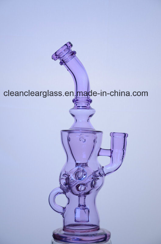 Hot Sale! Purple Ftk Perfect Vortex Fab Egg Glass Water Pipe Glass Recycler