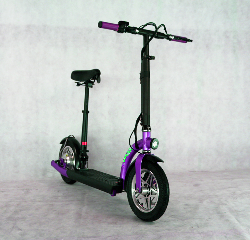 300 W Foldable Electric City Scooters with Lithium Battery