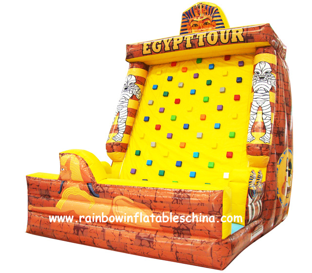 2016 Hot Inflatable Climbing Mountain Climbing Wall