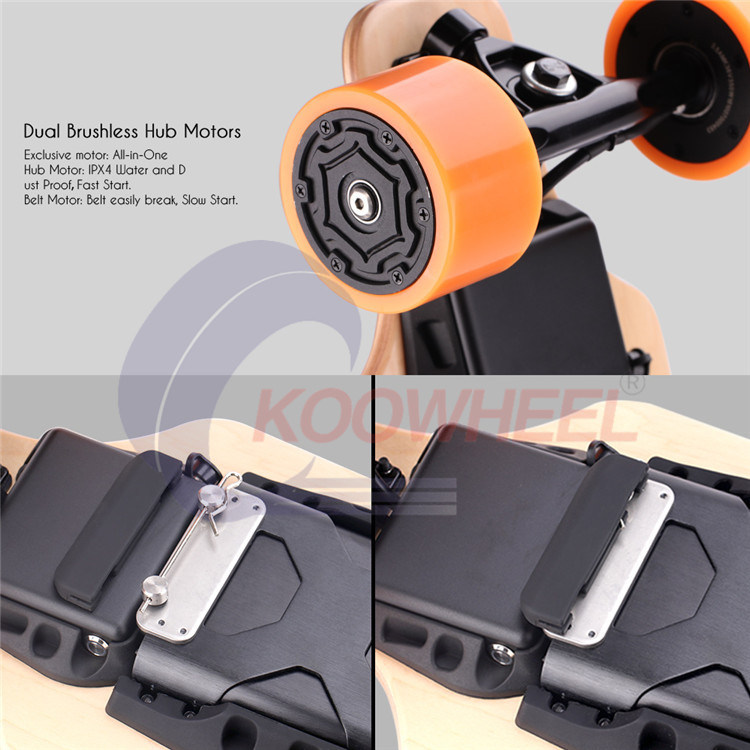 Koowheel High Quality Four Wheel Smart Fashion Electric Skateboard