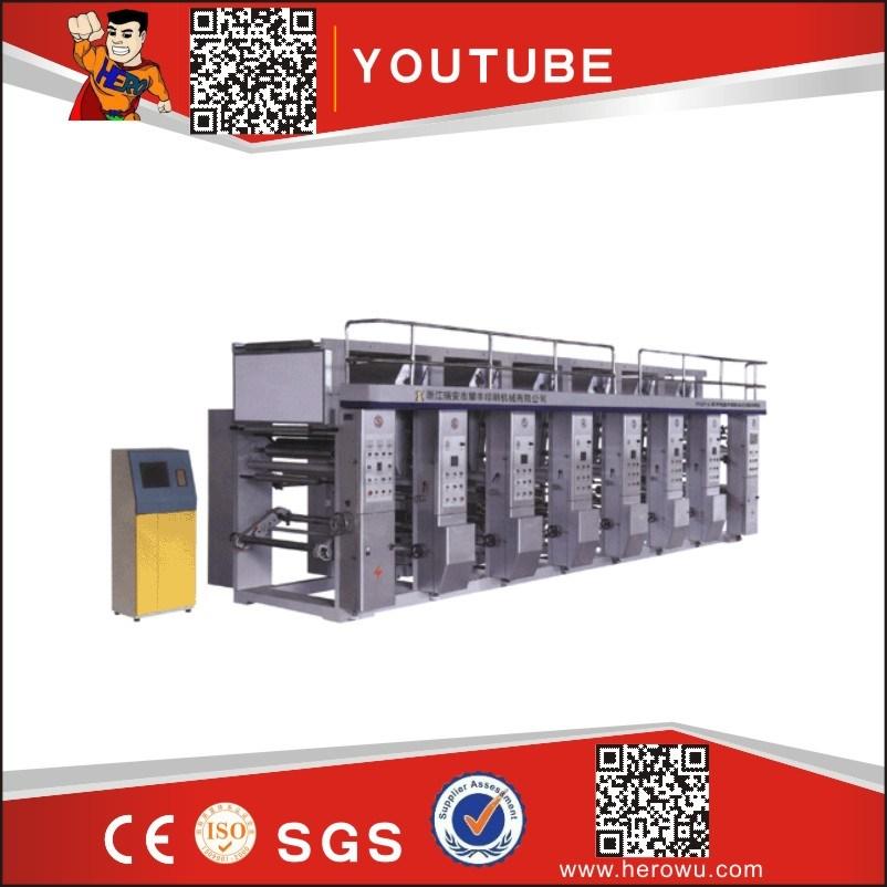 Plastic Film and Roll Gravure Printer Machinery