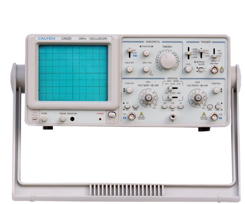 Double Channel Analog Oscilloscope with Good Price Ca620