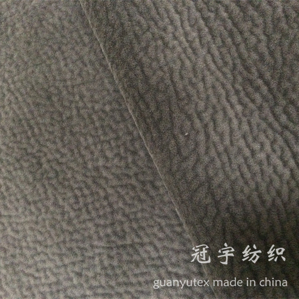 Gilding Process Suede Fabric Compound for Decoration Sofa