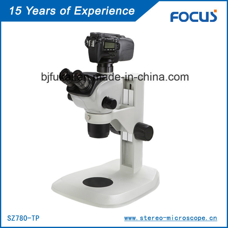 Binocular Electric Microscope for Mineral Identification