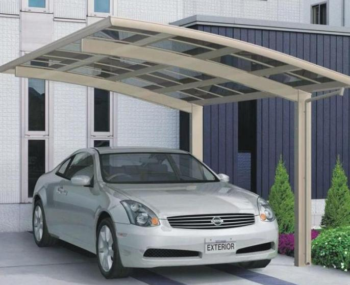 Car Canopy Carport Car Shed Polycarbonate Board And