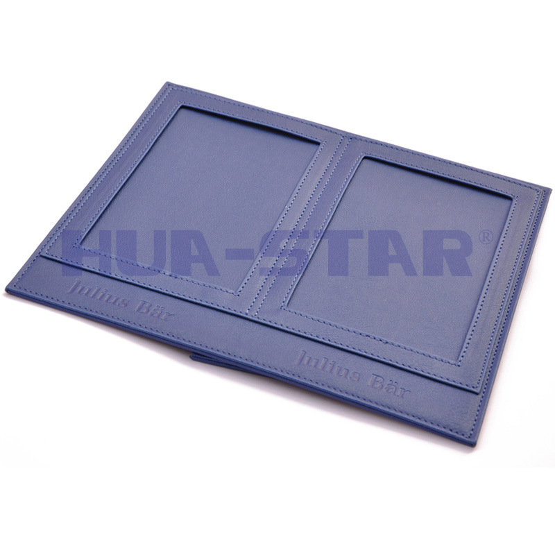 Customized Leather Photo Frame as Promotion Gifts