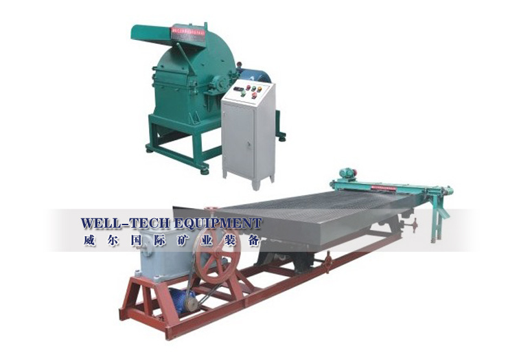 Gd -730 Wet-Type PCB Board Recycling Line Output 500-600 Kg/H Copper Recycling Equipment