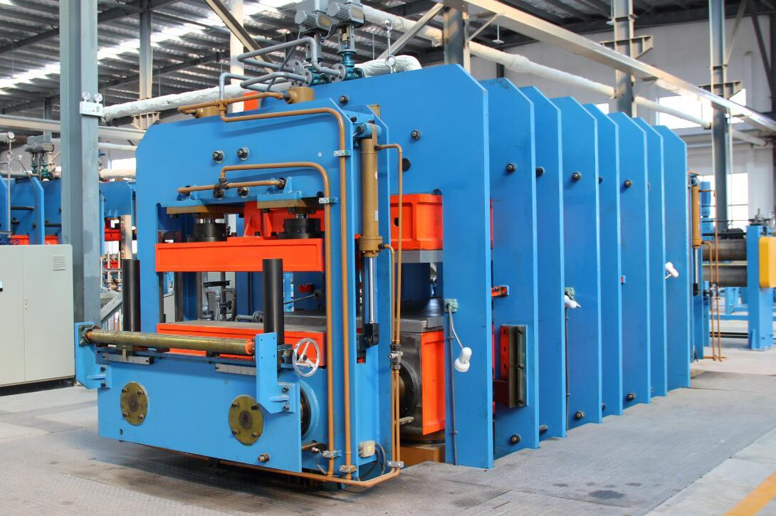 Rubber Vulcanizer Conveyor Belt Rubber Sheet Vulcanizing Machine