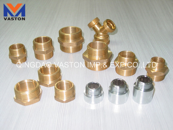 Brass Pipe Fitting with Ce, ISO9001 Certification: