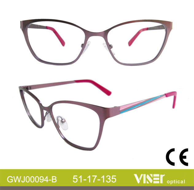 Fashion Metal Women Spectacle Frames (94-B)
