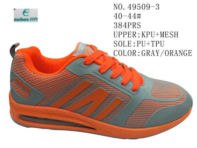 No. 49509 PU Men Sport Stock Shoes