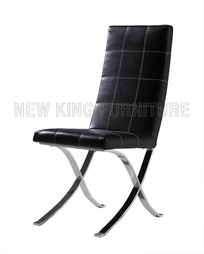 Modern Luxurious Style PU Leather Dining Chair (NK-DC076)