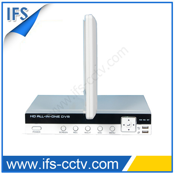 H. 264 Cambo Standalone DVR with LCD (ISR-LCD204W)