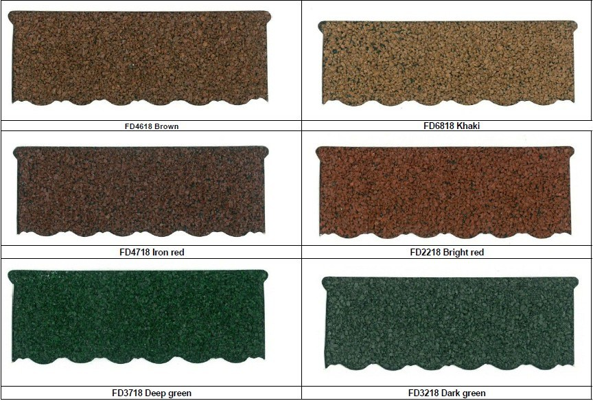 2015 New Product Best Sale Roofing Tile