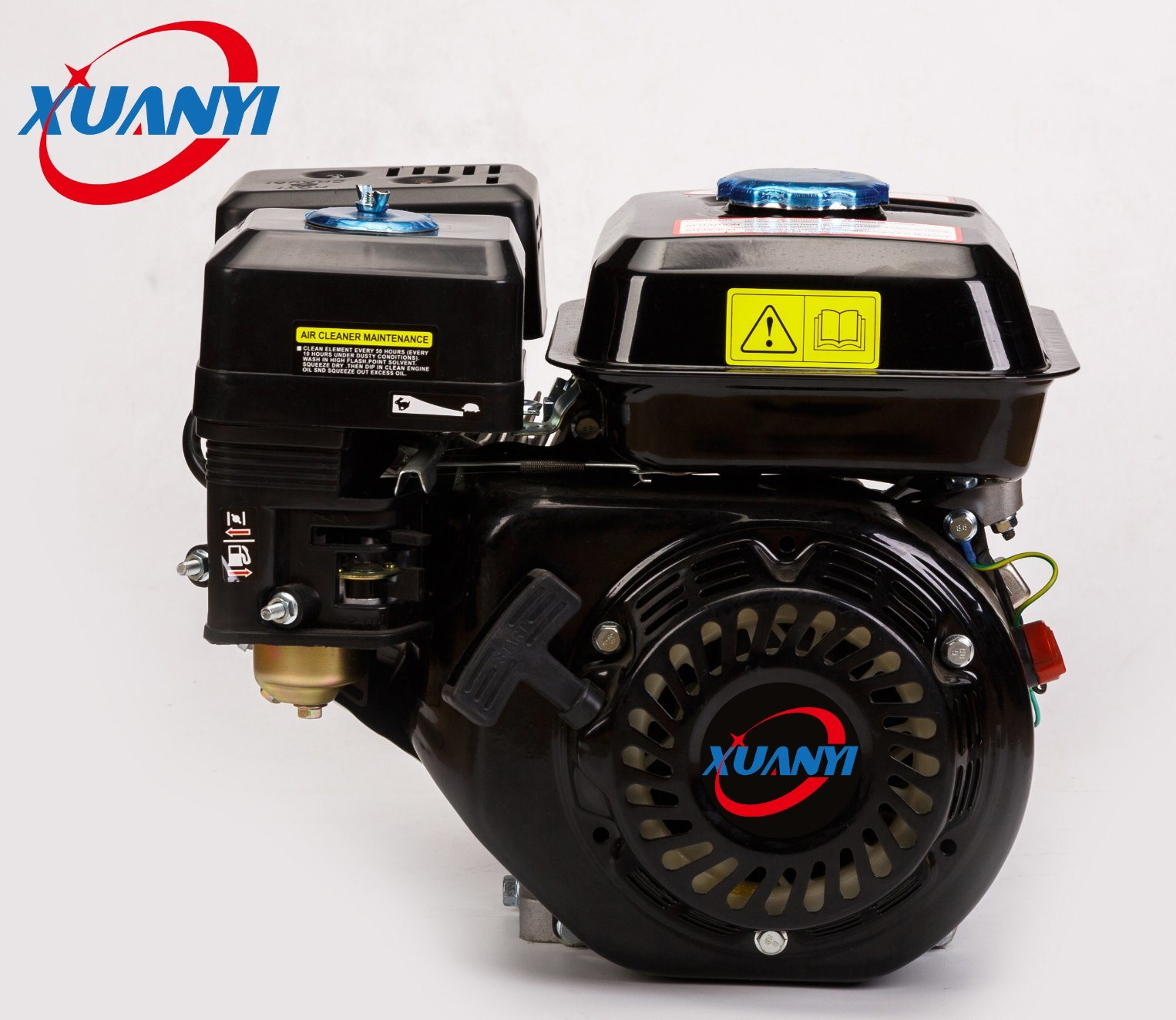 6.5HP (168F) 4 Stroke Air Cooled Petrol/Gasoline Engine