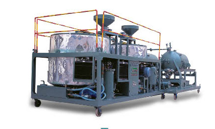 HTZS Waste Engine Oil Recycling Plant (4000 L/Day)
