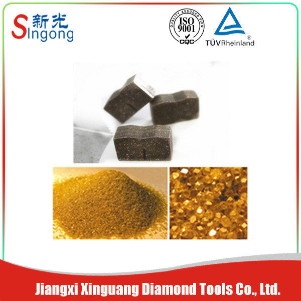 M Shape Diamond Segments for Cutting Granite