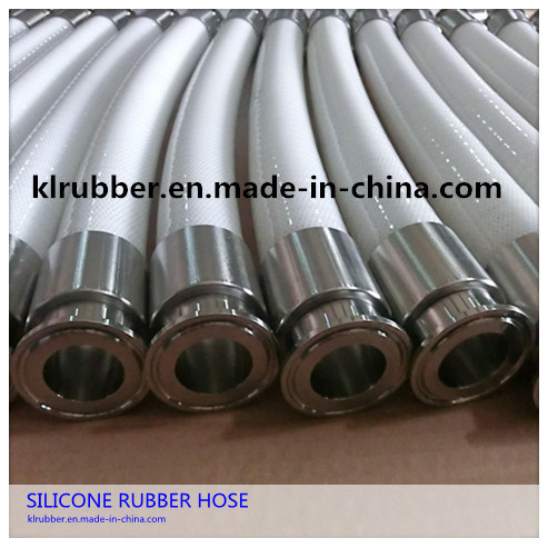 FDA Reinforced Silicone Hose with Stainless Steel