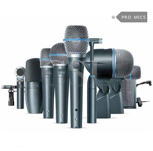 Beta Dmk7-XLR7 Professional Studio Drum Microphone Kit