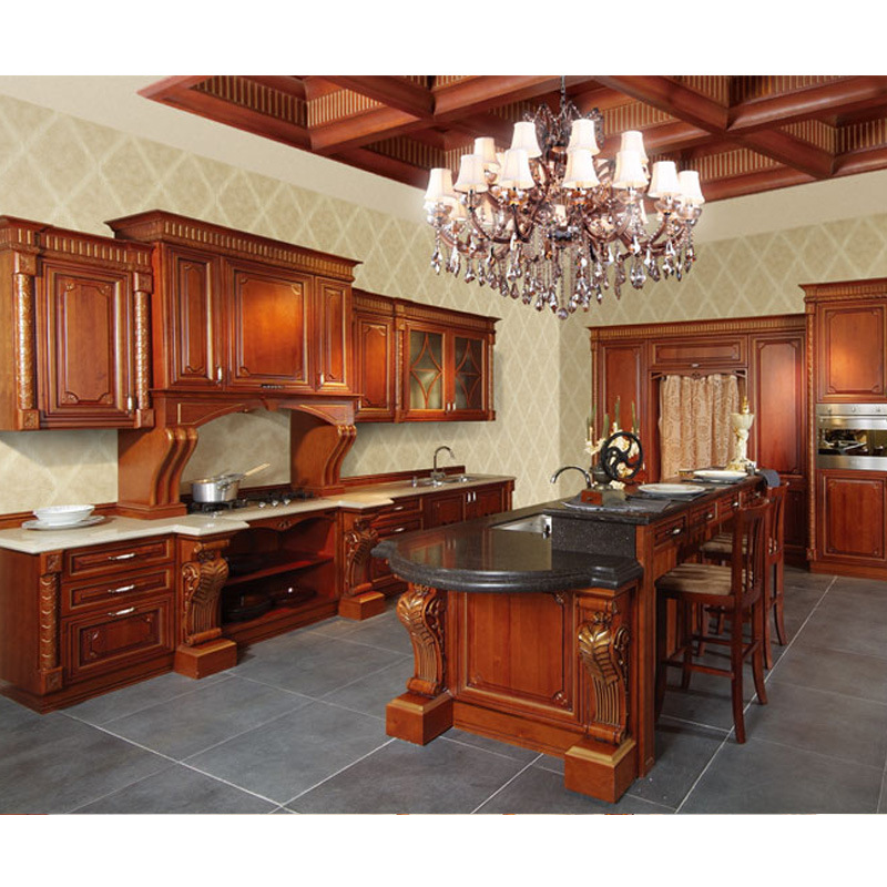 Russian Style Solid Wood Kitchen Cabinets Photos Pictures