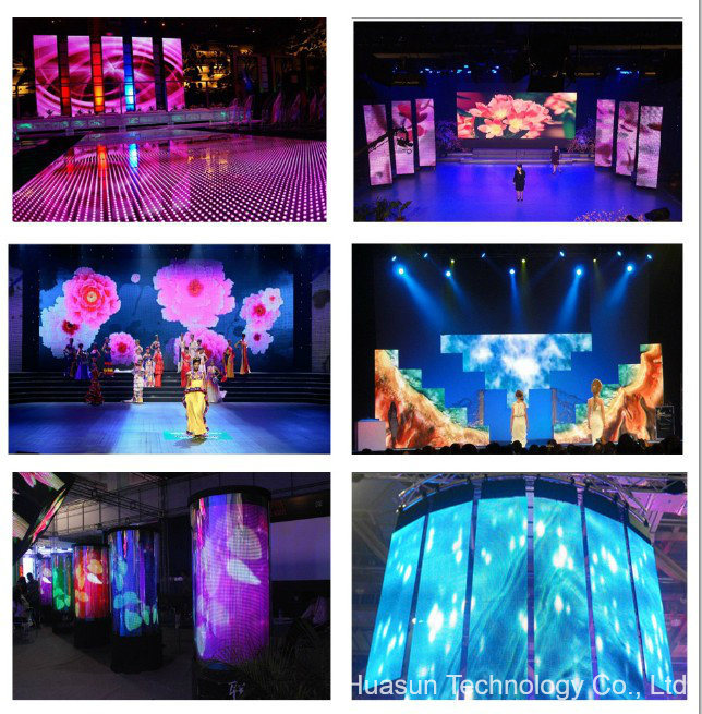 P6 Full Color Foldable LED Video Curtain