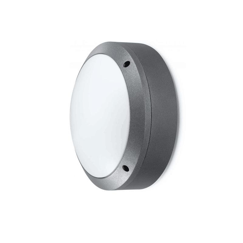 IP65 20W 90-180mins Emergency Al Diecast Plain LED Bulkhead
