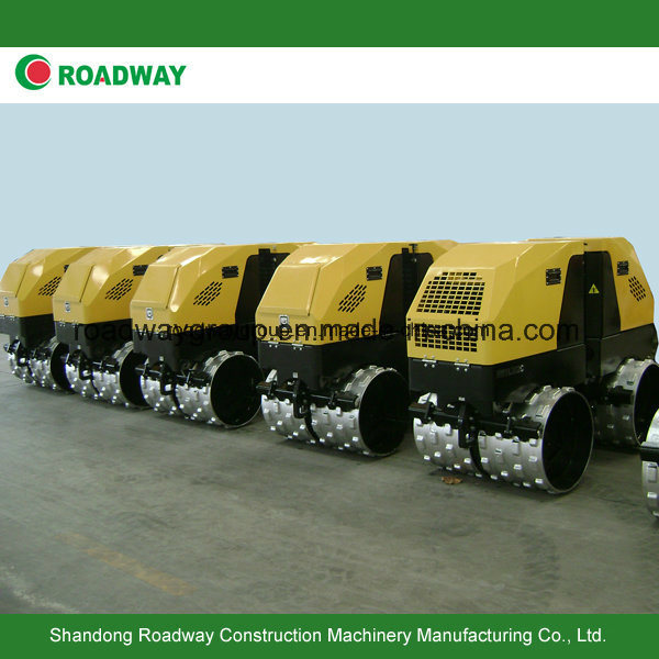 Remote Control Vibratory Trench Road Roller