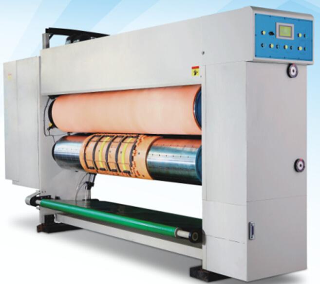 Printer Gluer Machine with Slotter Die Cutter