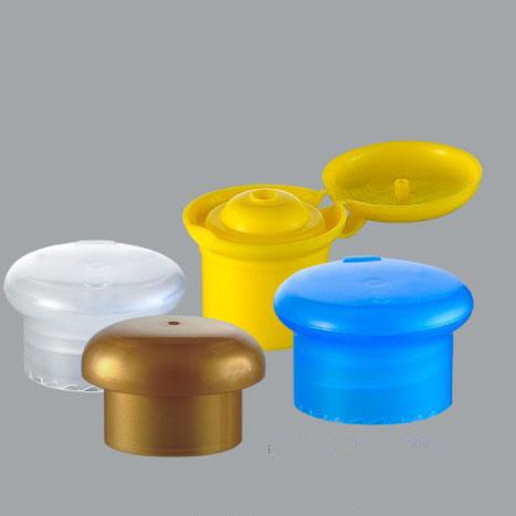 Plastic Mushroom Bottle Cap, Disc Top Cap (NCP05)