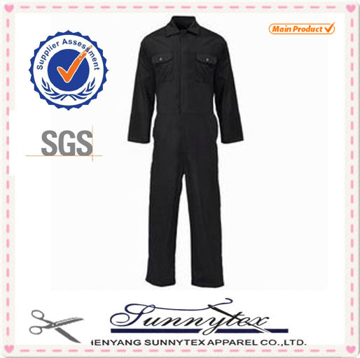 European Standard OEM Highest Quality Breathable Cotton Men Coverall Workwear