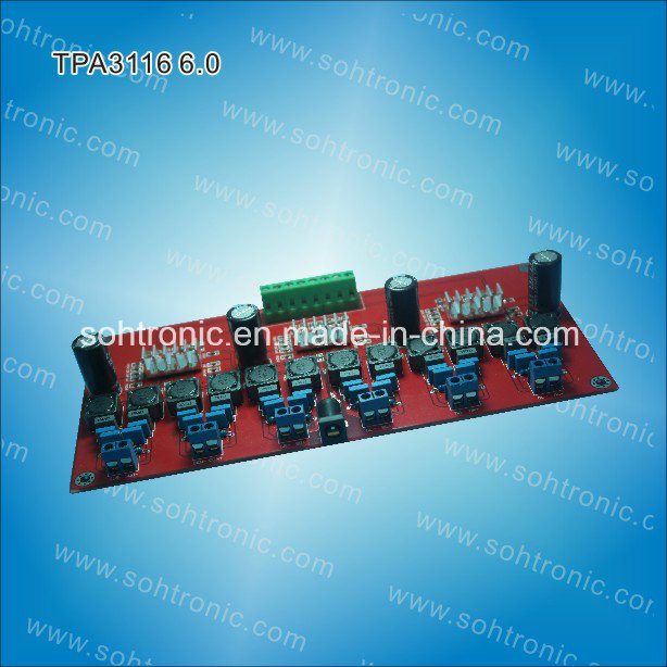 6.0 Channel Tpa3116 Digital Amplifier Module