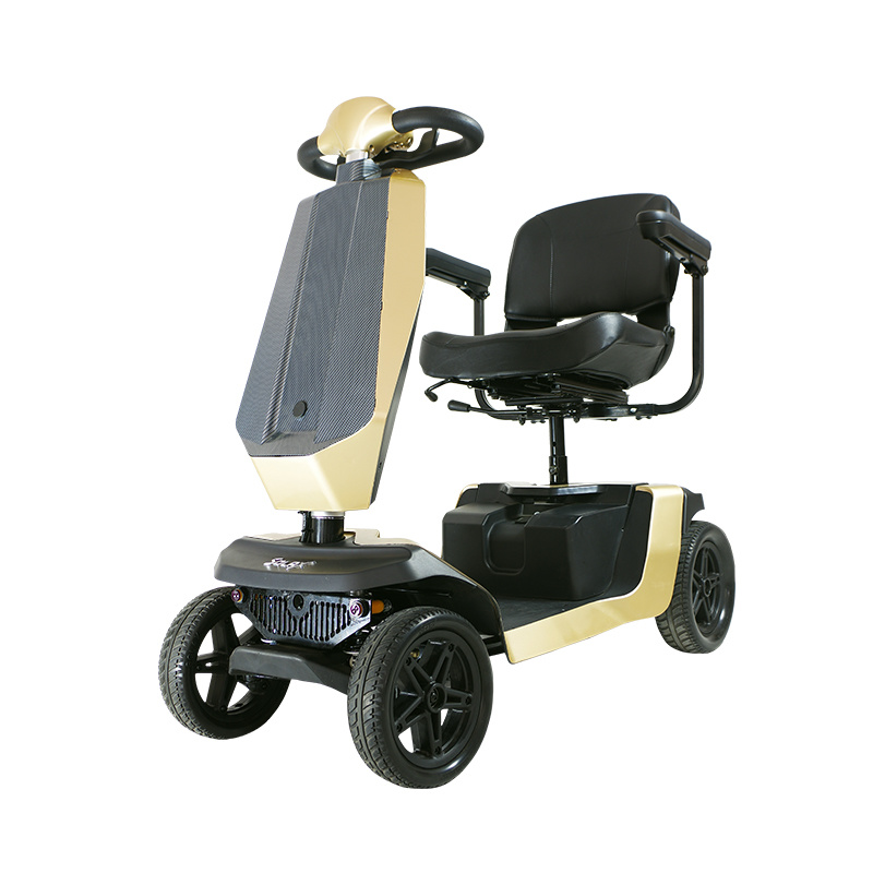 Disabled Mobility Scooter with Unique Sensor